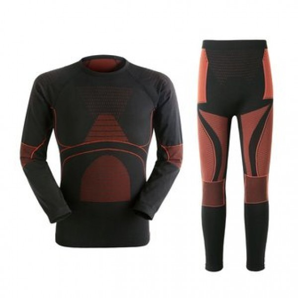 Mens Warm Breathable Thermal Quick Dry Tight Elast...