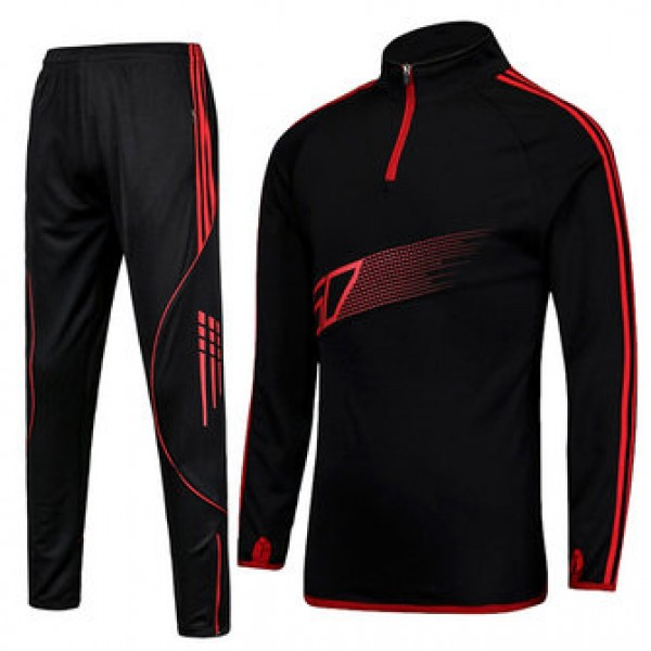 PRO Football Training Sports Suits Men Breathable ...