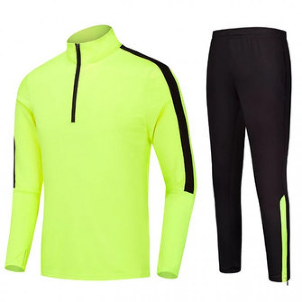 Mens Casual Outdooors Training Sport Suit Zipper S...