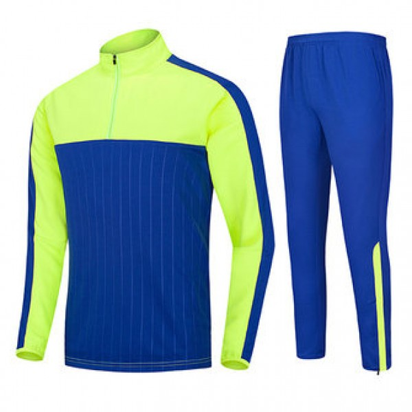 Outdoor sports Football Training Suit Casual Half ...
