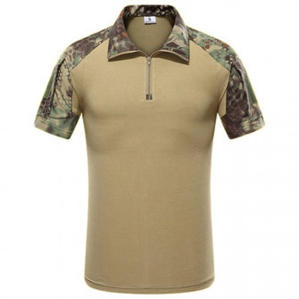 Outdoor Bionic Multicolor Camouflage Tactics T-shi...
