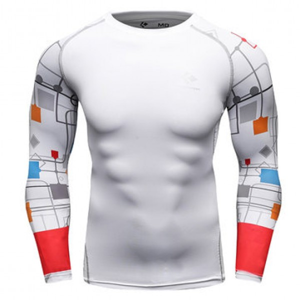 12 Styles Mens Fitness Jogging Skins Tights T-shir...