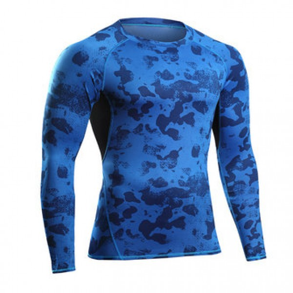 Camouflage Fitness jogging T-shirts Training Suit ...
