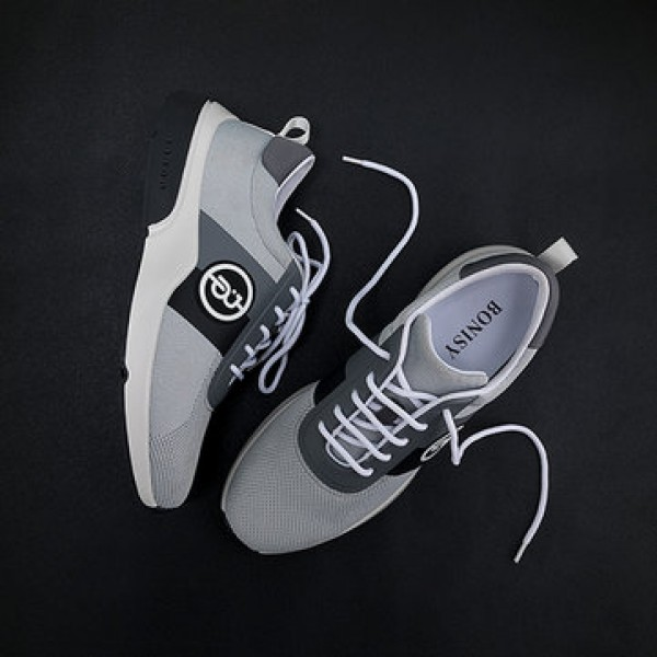 BONISY Lightweight Breathable Men Sneakers Non-slip Wear Resistant Sweat Absorption Sports Running Shoes Fashion Shoes From Xiaomi Youpin