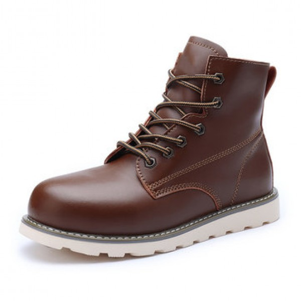 TENGOO Men Work Safety Shoes Hiking Camping Outdoo...