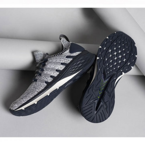 Xiaomi Mijia Sneakers 3 Machine Washable Ultralight TPU + FREE FORCE Midsole Technology Shock Absorption 3D Fishbone Lock System Sports Running Shoes Men Sneakers