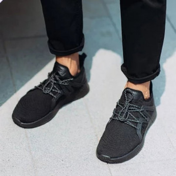 90FUN Men One Piece Weaving Breathable High Elasticity Sport Running Shoes Sneakers from xiaomi youpin