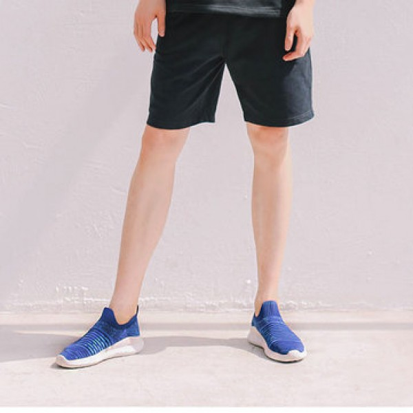 FREETIE Fly Knit Fabric Men Sneakers Anti-bending EVA Shock Absorption Sports Running Shoes Ultralight Breathable Walking Shoes from xiaomi youpin