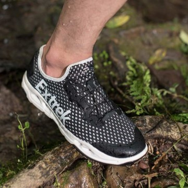Extrek Non-slip Quick-drying Amphibious Shoes From Xiaomi Youpin Lightweight Wading Shoes Shock Absorption Elastic Breathable Sports Shoes