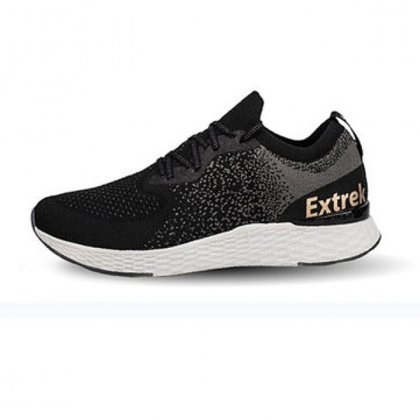 EXTREK COOLMAX Fly Knit Men Sneakers Ultralight Shock Absorotion Antibacterial Sports Running Shoes Breathable Casual Shoes from xiaomi youpin