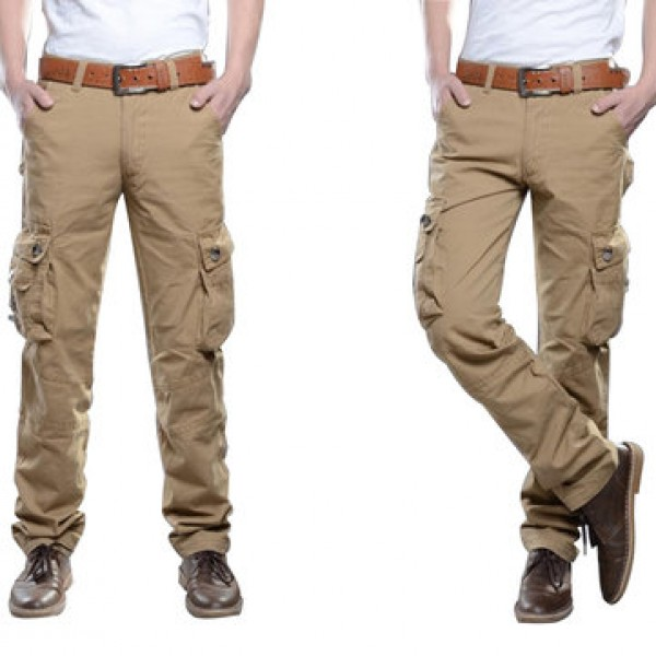 Mens Outdoors Tactical Army Military Solid Color C...