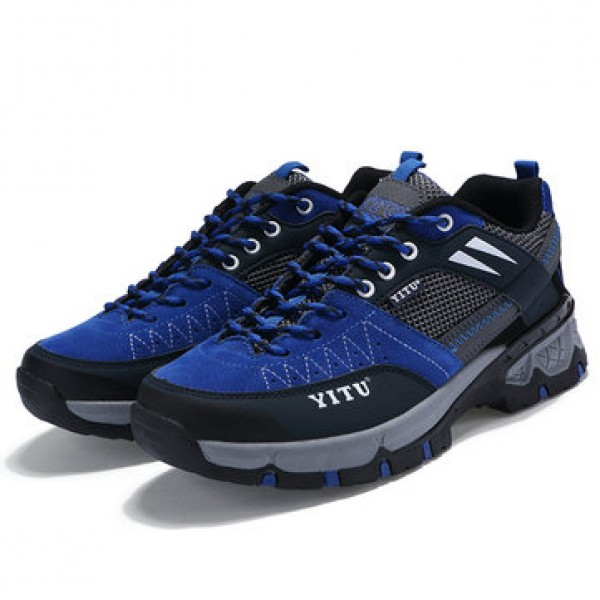 Outdoor Hiking Shoes Breathable Waterproof Anti-sl...