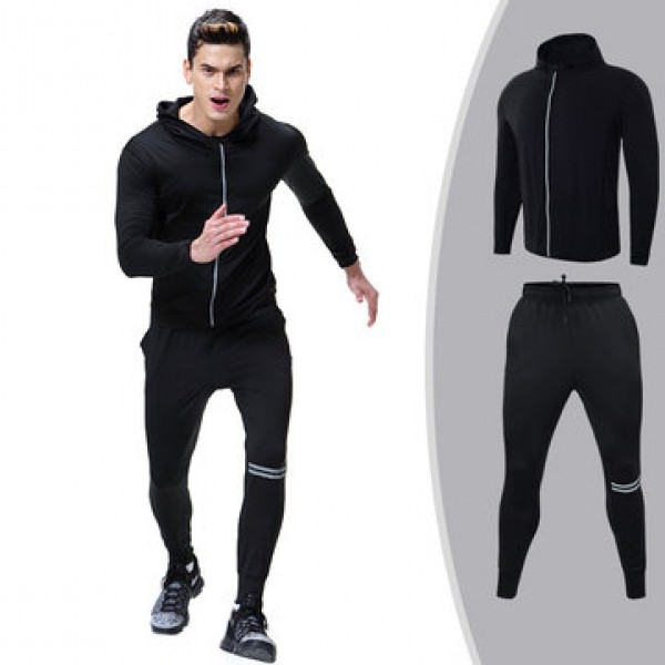 Mens PRO Compression Quick-drying Skinny Fit Train...