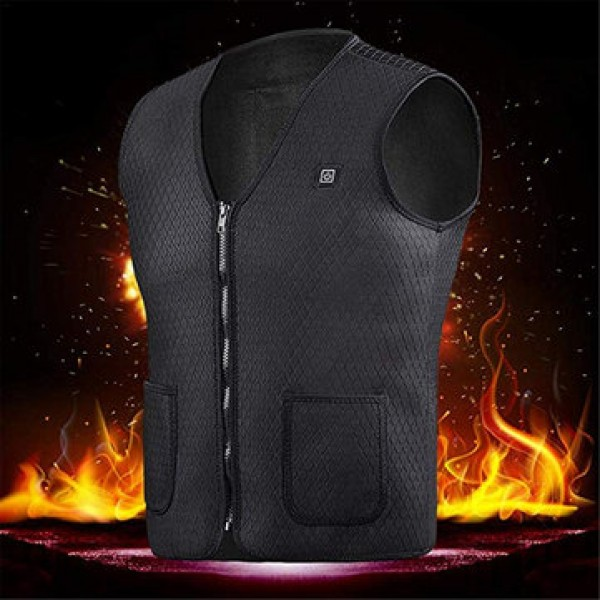 Electric Heated Vest Washable USB Charging Heating...