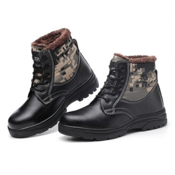 Steel Cap Toe Labor Shoes Men Safety Hiking Shoes ...