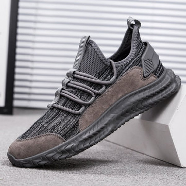 TENGOO Fly-B2 Men Sneakers Ultralight Soft Breathable Bouncy Shock Absorption Sports Running Shoes