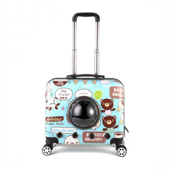 IPRee® 18inch Pet Suitcase Breathable Cat ...