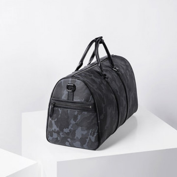 VLLICON 35L Outdoor Travel Leather Bag Camouflage Large Capacity Sports Gym Fitness Handbag Shoulder Bag from xiaomi youpin