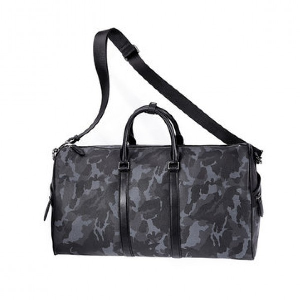 VLLICON 35L Outdoor Travel Leather Bag Camouflage ...