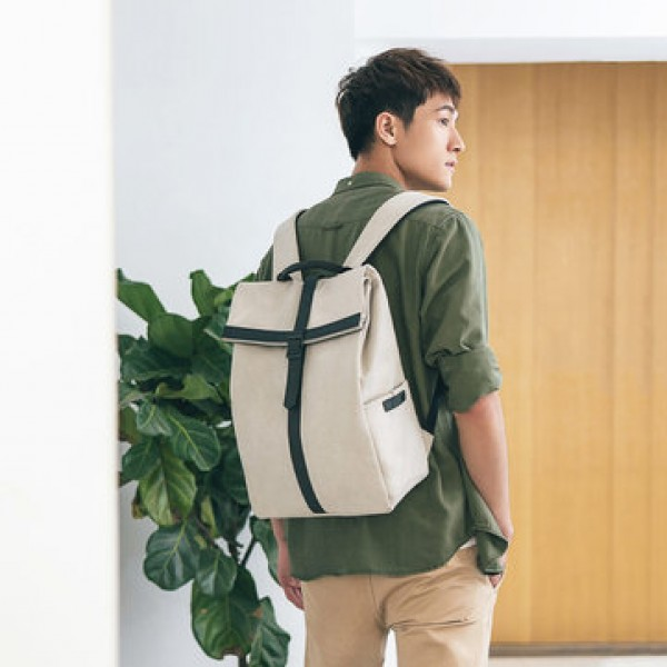 90FUN GRINDER 19L Backpack 15.6 Inch Laptop Bag Waterproof Oxford Leisure Rucksack from xiaomi youpin