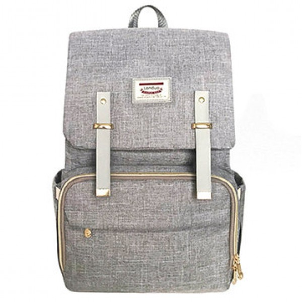 19L Mummy Backpack Baby Diaper Nappy Bag Large Cap...
