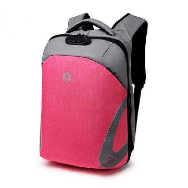 Men Anti Theft Laptop Backpack Waterproof Storage Bag Rucksack With USB Charging Port For Outdoor Business Travel