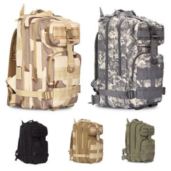 20-30L Outdoor Military Tactical Molle Backpack Wa...