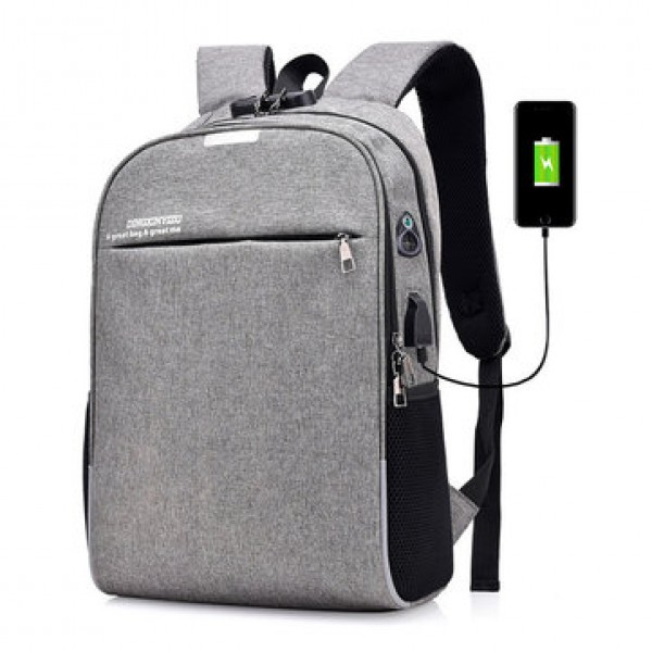 20L Anti-theft Men Laptop Notebook Backpack USB Ch...
