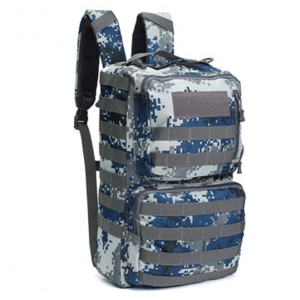 50L Outdoor Tactical Army Backpack Rucksack Waterp...