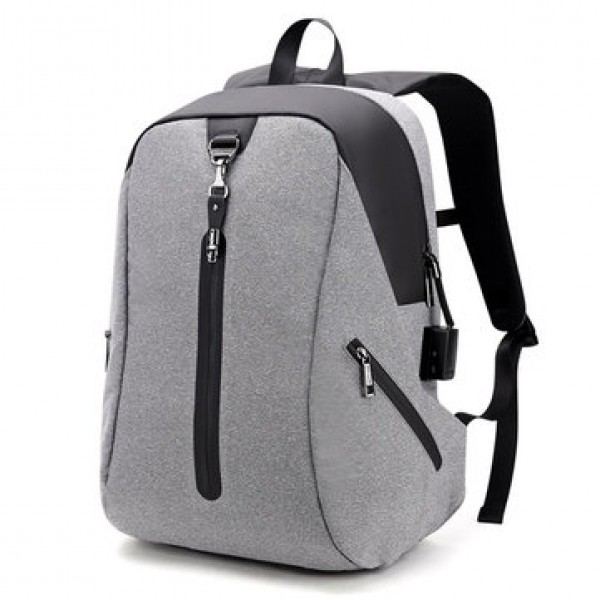 Alarm System Men Anti-theft Backpack Water Repelle...