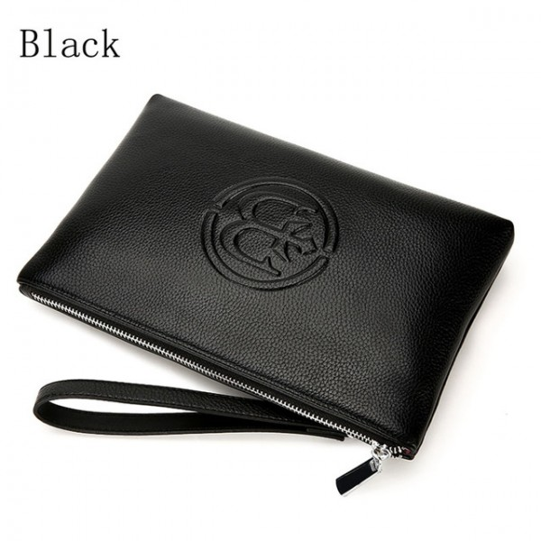 2021 new leather clutch wallet Business casual wallet China brand high quality purse Brown men organ...