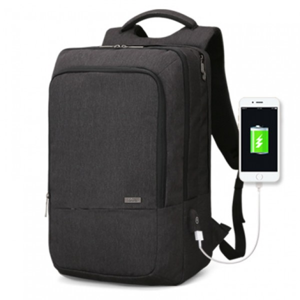 Mark Ryden Man Backpack Fit 17 inch Laptop USB Recharging Multi-layer Space Travel Male Bag Anti-thi...