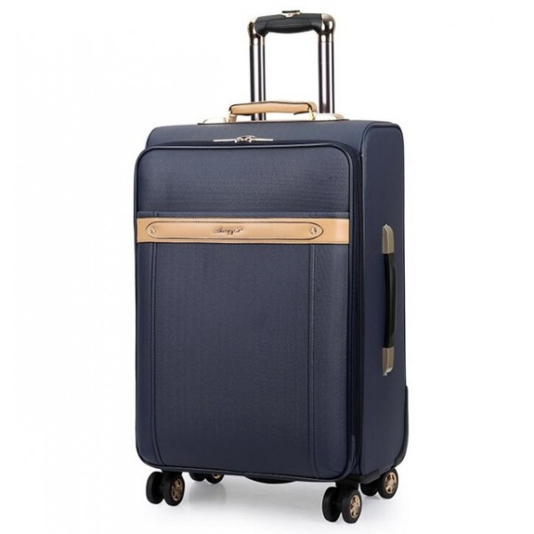 16 - 24 inch men spinner carry on travel suitcase